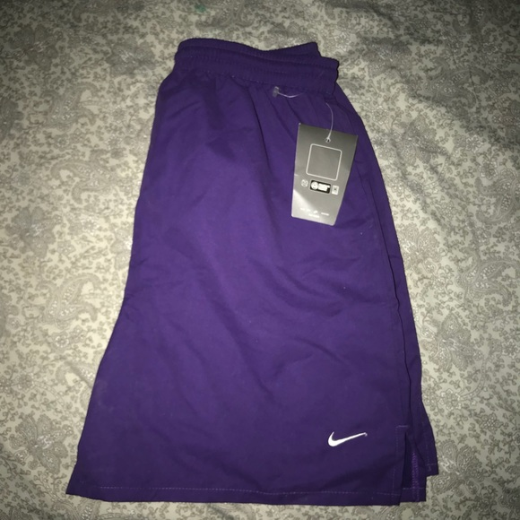 Brand New Tags Nike Men's Running Shorts Purple M